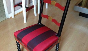 Relooking chaise espagnole