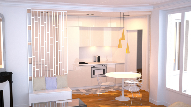 Amenagement appartement architecte 1